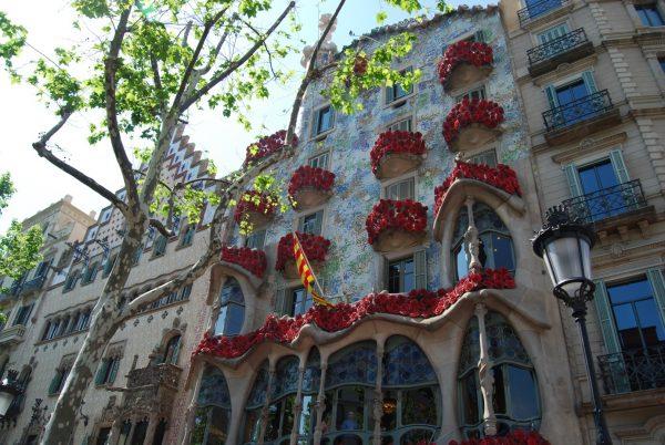 Sant Jordi-Tag heraus