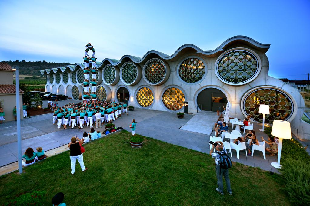 eindrucksvollen Hotel Mastinell errichtet